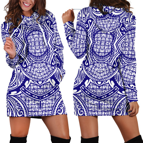 Polynesian Women's Hoodie Dress 03 - BN09 |Women's Clothing| 1sttheworld