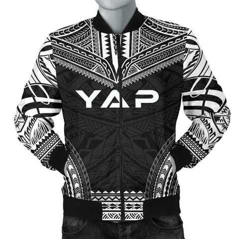 Yap Polynesian Chief Men's Bomber Jacket - Black Version
