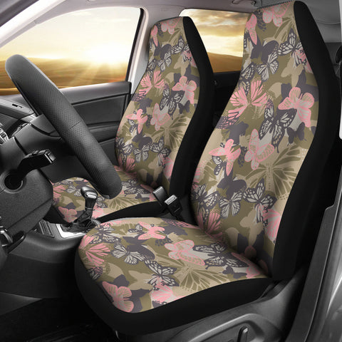 Camo Car Seat Covers - Butterfly Pattern - BN07