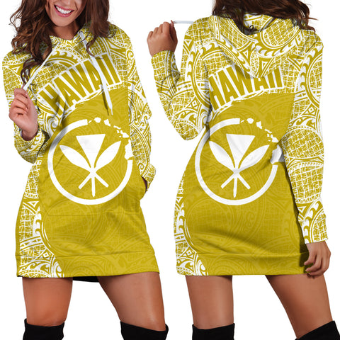 Hawaii Hoodie Dress Kanaka Maoli 11 TH90 |Women's Clothing| 1sttheworld