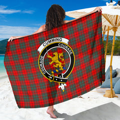 Cumming Tartan Clan Badge Sarong HJ4