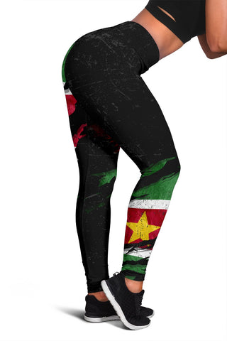Suriname In Me Women's Leggings - Special Grunge Style A31