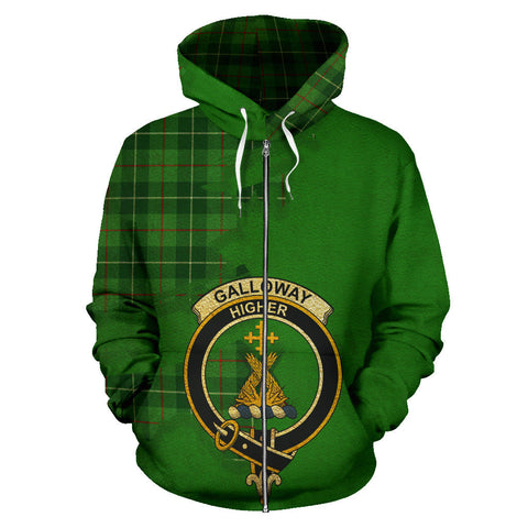 Galloway District  Royal All Over Hoodie (Zip)