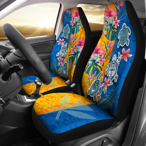 Hawaii Car Seat Covers Polynesian Turtle Special 1 | 1sttheworld