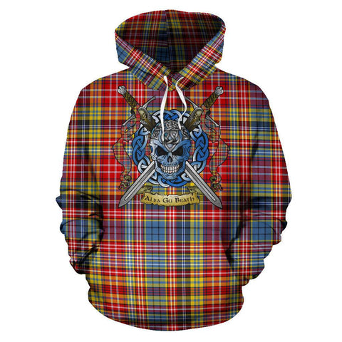 Ogilvie of Airlie Ancient Tartan Hoodie Celtic Scottish Warrior A79 | Over 500 Tartans | Clothing | Apaprel