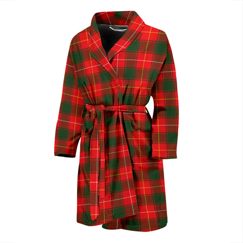 MacPhee Modern Tartan Men's Bath Robe