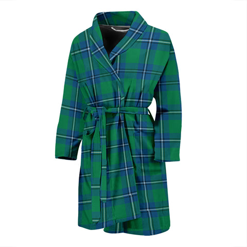 Irvine Ancient Tartan Men's Bath Robe