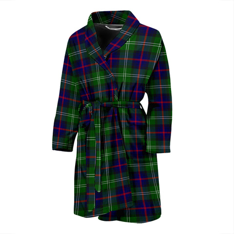 Image of Sutherland Modern Tartan Men's Bath Robe