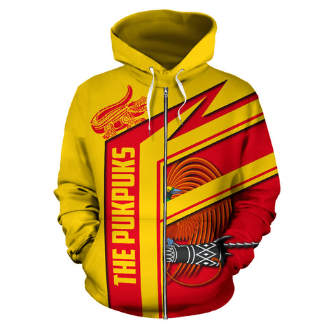 Image of The Pukpuks - Papua New Guinea Air Zip-up Hoodie TH0