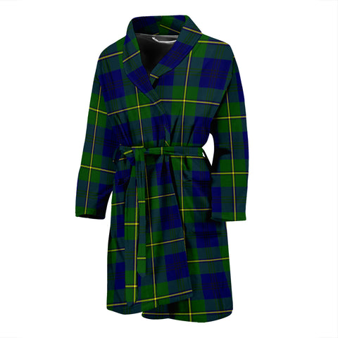 Image of Johnston Modern Tartan Men's Bath Robe