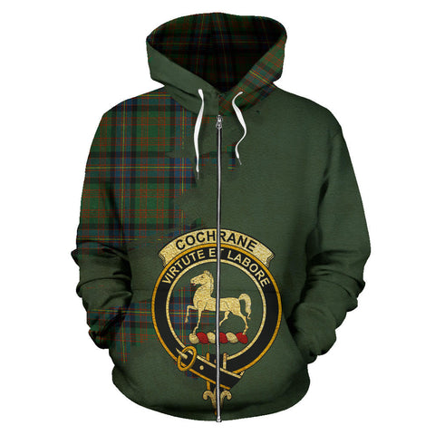 Cochrane Ancient  Royal All Over Hoodie (Zip)