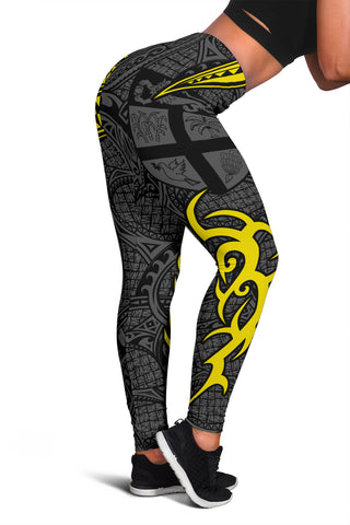 Fiji Clothing - Special Fiji Women's Leggings Yellow J5
