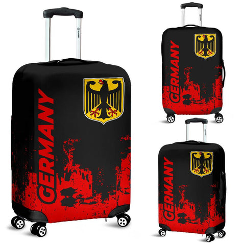 Germany  Luggage Cover - Smudge Style