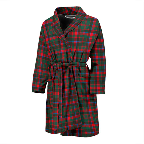 Cumming Hunting Modern Tartan Men's Bath Robe