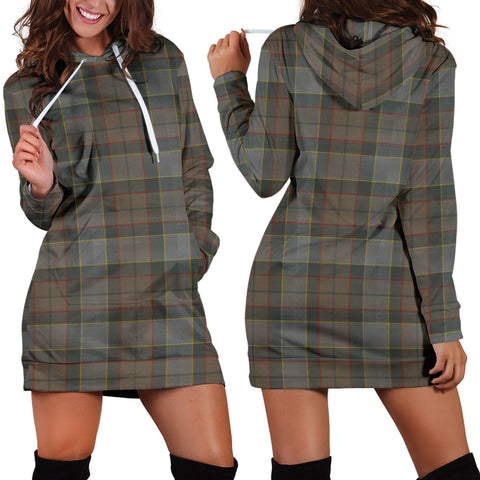 Outlander Fraser Tartan Hoodie Dress HJ4 |Women's Clothing| 1sttheworld