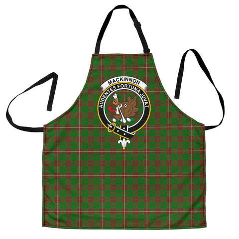 Image of MacKinnon Hunting Modern Tartan Clan Crest Apron