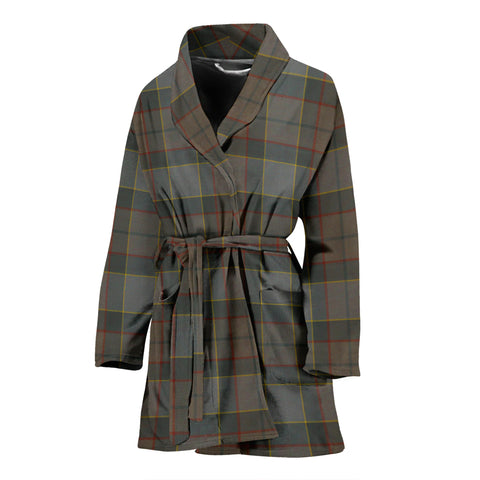 Image of Outlander Fraser Tartan Women's Bath Robe - BN03