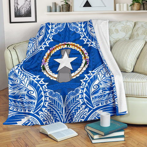 Northern Mariana Islands Premium Blanket A7