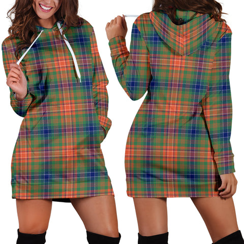 Wilson Ancient Tartan Hoodie Dress HJ4 |Women's Clothing| 1sttheworld