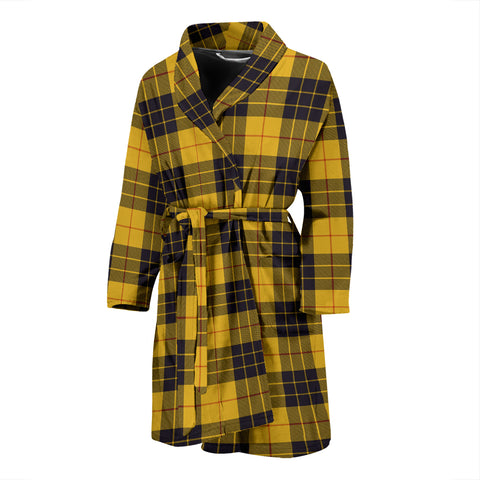 MacLeod Of Lewis Ancient Tartan Men's Bath Robe