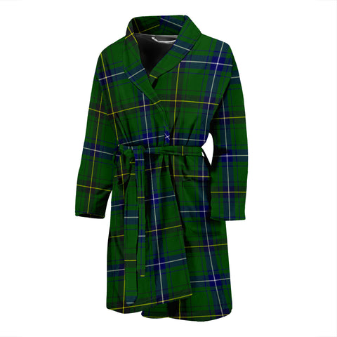 Henderson Modern Tartan Men's Bathrobe - BN04