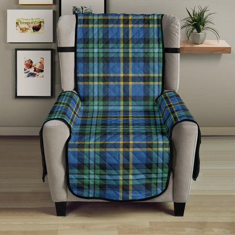 Image of Weir Ancient Tartan Chair Sofa Protector