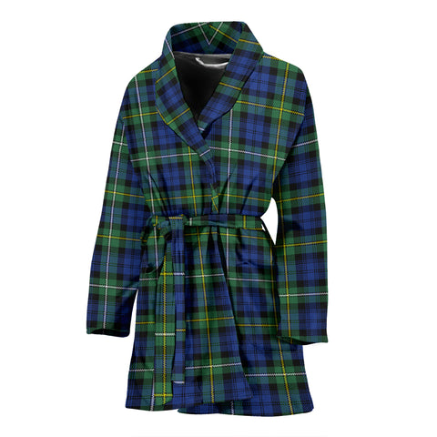 Campbell Argyll Ancient Tartan Women's Bath Robe