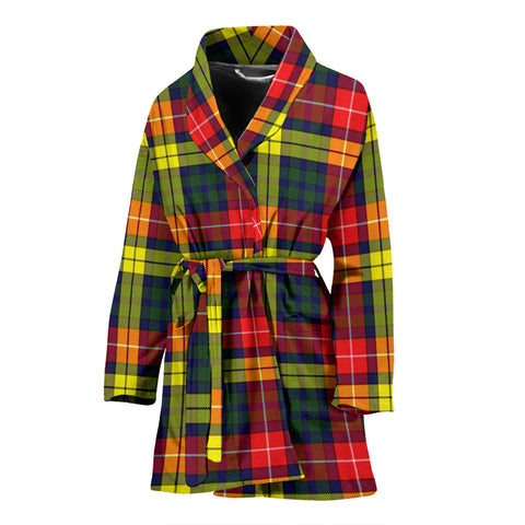 Buchanan Modern Tartan Women's Bath Robe