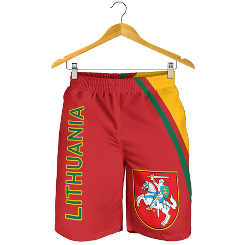 Image of Lithuania Men's Shorts - Curve Version