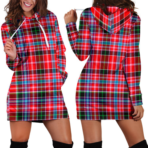 Aberdeen District Tartan Hoodie Dress HJ4