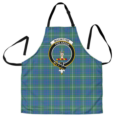 Image of MacIntyre Hunting Ancient Tartan Clan Crest Apron