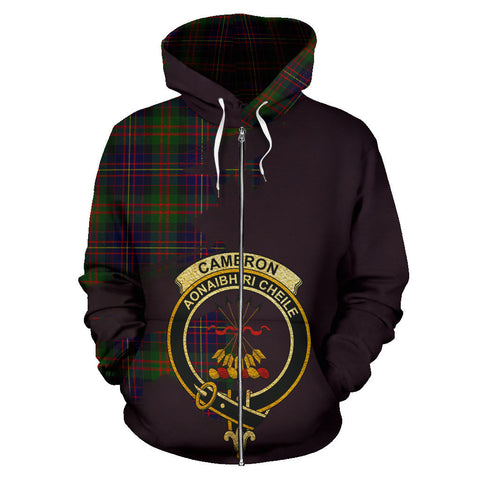 Image of Cameron of Erracht Modern  Royal All Over Hoodie (Zip)