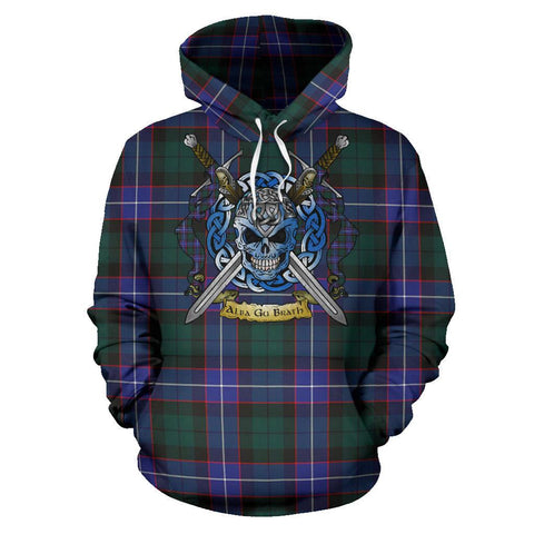 Guthrie Modern Tartan Hoodie Celtic Scottish Warrior A79 | Over 500 Tartans | Clothing | Apaprel