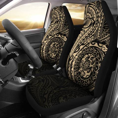 Polynesian Tattoo Style Car Seat Covers A7