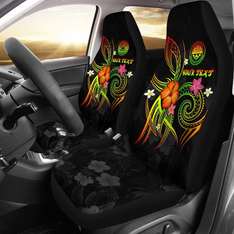 Federated States of Micronesia Polynesian Personalised Car Seat Covers - Legend of FSM (Reggae)