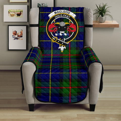 MacLeod of Harris Modern Tartan Clan Badge Sofa Protector