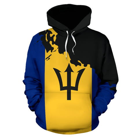 Image of Barbados Painting Hoodie - Unique Style