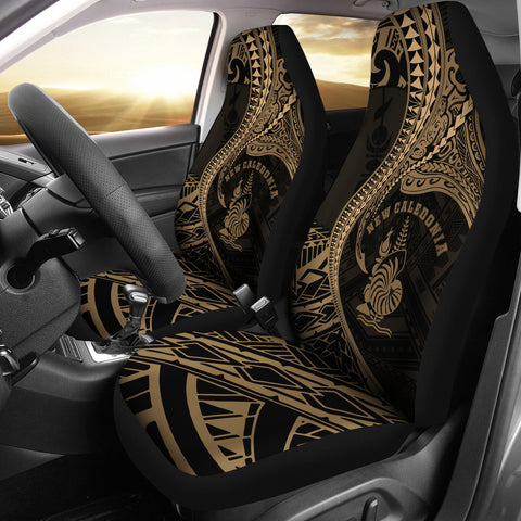 Image of New Caledonia Car Seat Covers Kanaloa Tatau Gen NC (Gold)