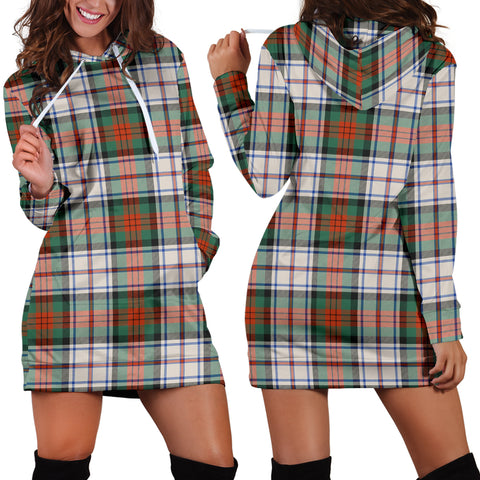 Macduff Dress Ancient Tartan Hoodie Dress HJ4 |Women's Clothing| 1sttheworld