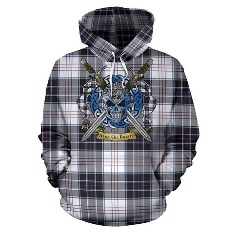 MacRae Dress Modern Tartan Hoodie Celtic Scottish Warrior A79 | Over 500 Tartans | Clothing | Apaprel