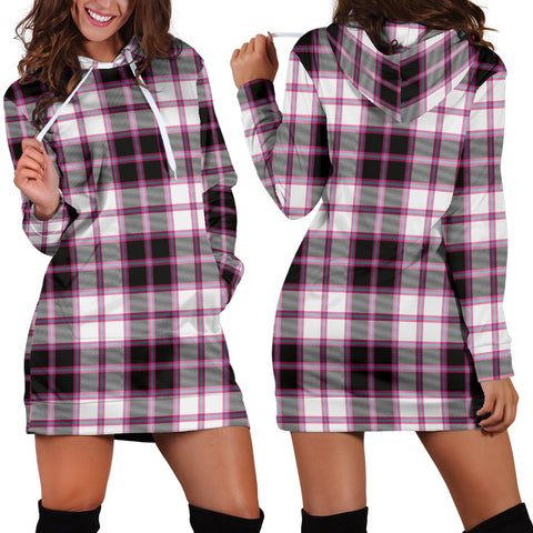 Macpherson Hunting Modern Tartan Hoodie Dress HJ4 |Women's Clothing| 1sttheworld