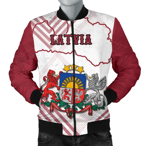 Image of Latvia Men Bomber Jacket K5
