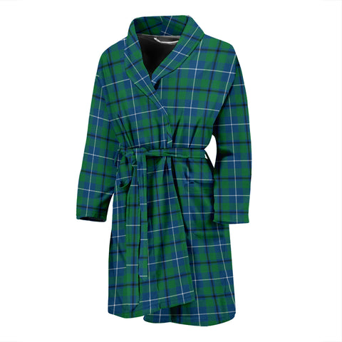 Douglas Ancient Tartan Men's Bath Robe