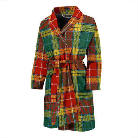 Image of Buchanan Old Sett Tartan Men's Bath Robe