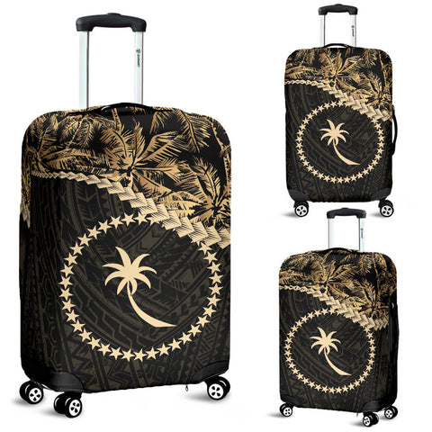 Chuuk Luggage Covers Golden Coconut A02