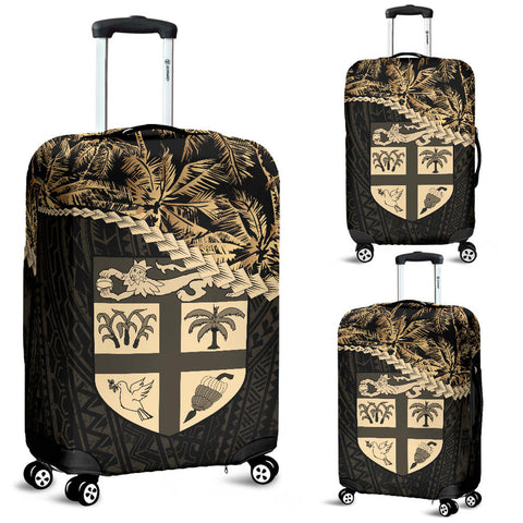 Fiji Luggage Covers Golden Coconut A02