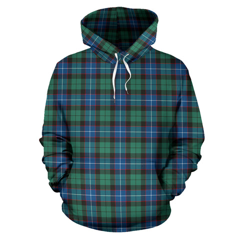 Hunter Ancient Tartan Hoodie HJ4