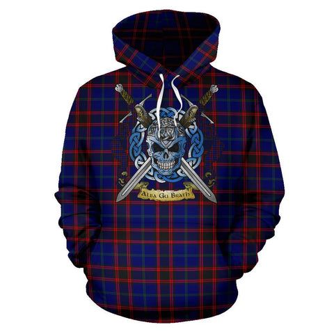 Home Modern Tartan Hoodie Celtic Scottish Warrior A79 | Over 500 Tartans | Clothing | Apaprel