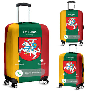 Lithuania Is Calling Luggage Cover