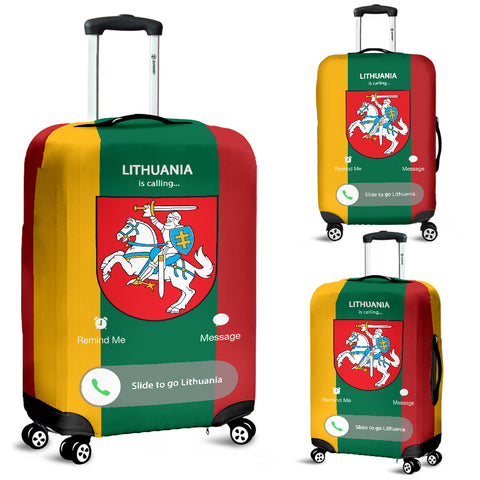 Image of Lithuania Is Calling Luggage Cover